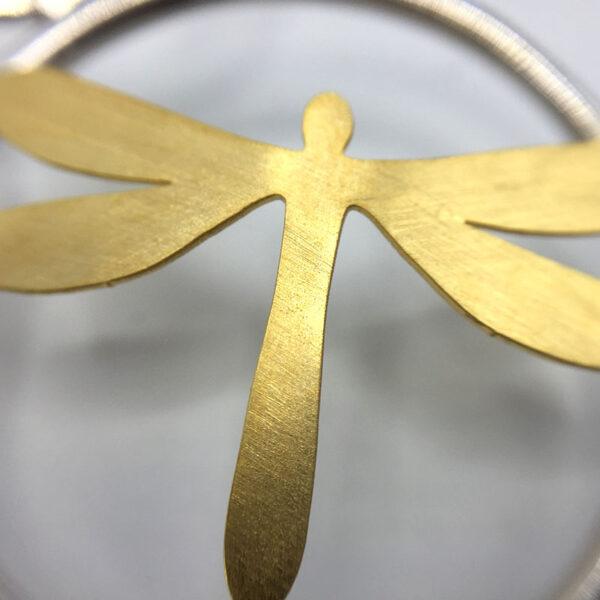 dettaglio gioiello libellula