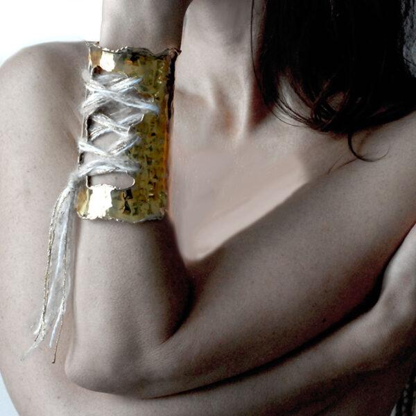 bracciale alla schiava oro