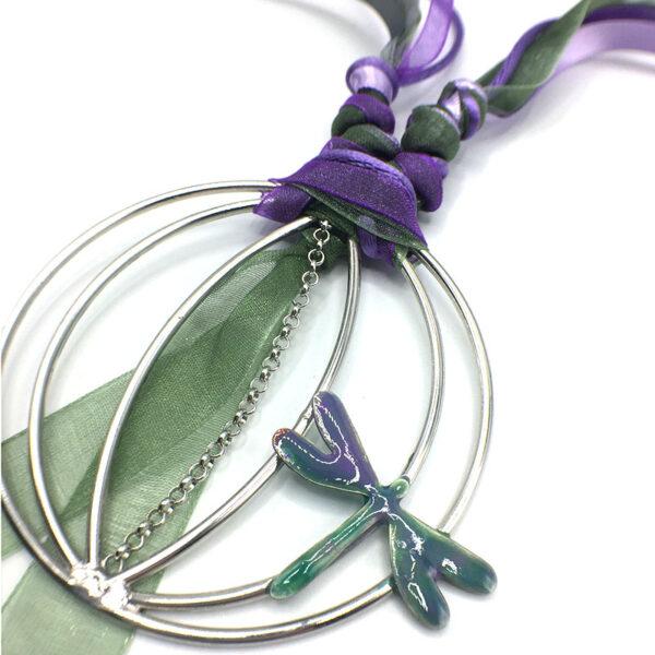 collana originale libellula