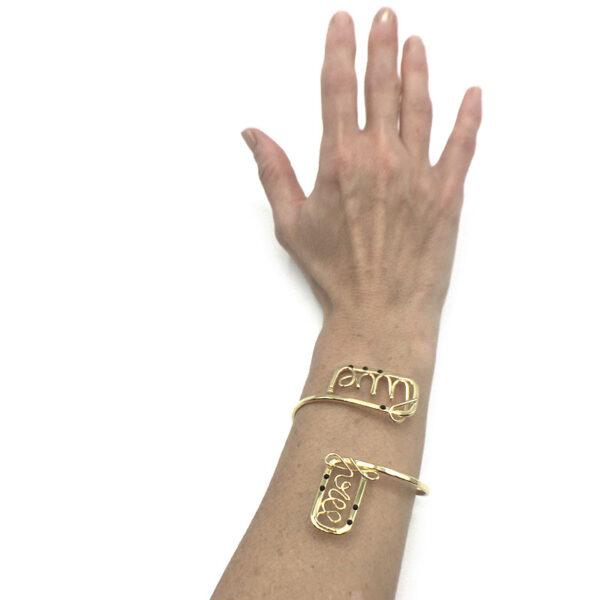 bracciale rigido oro