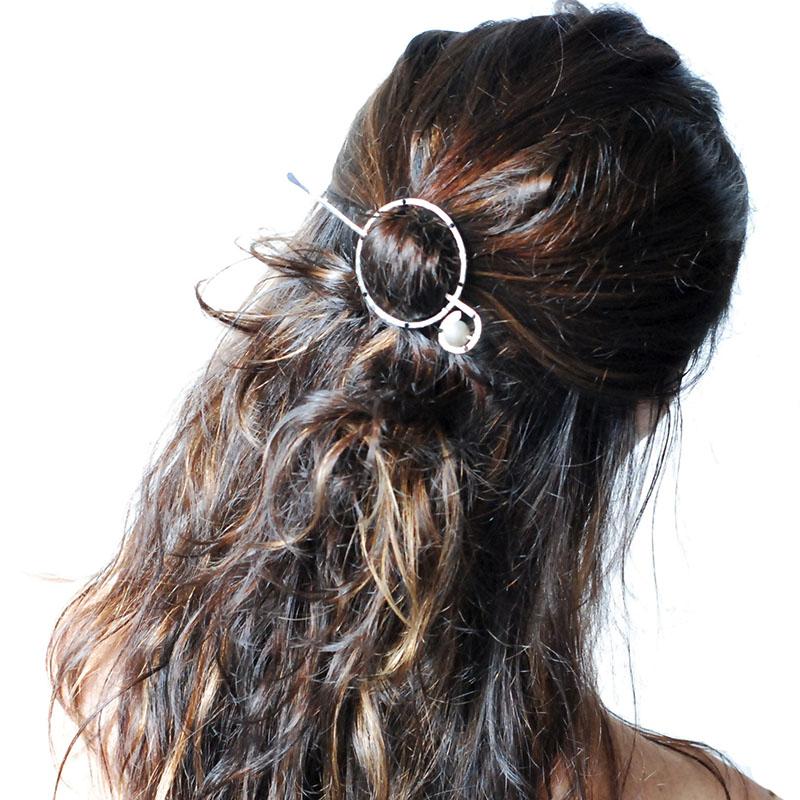 fermaglio per capelli gioiello
